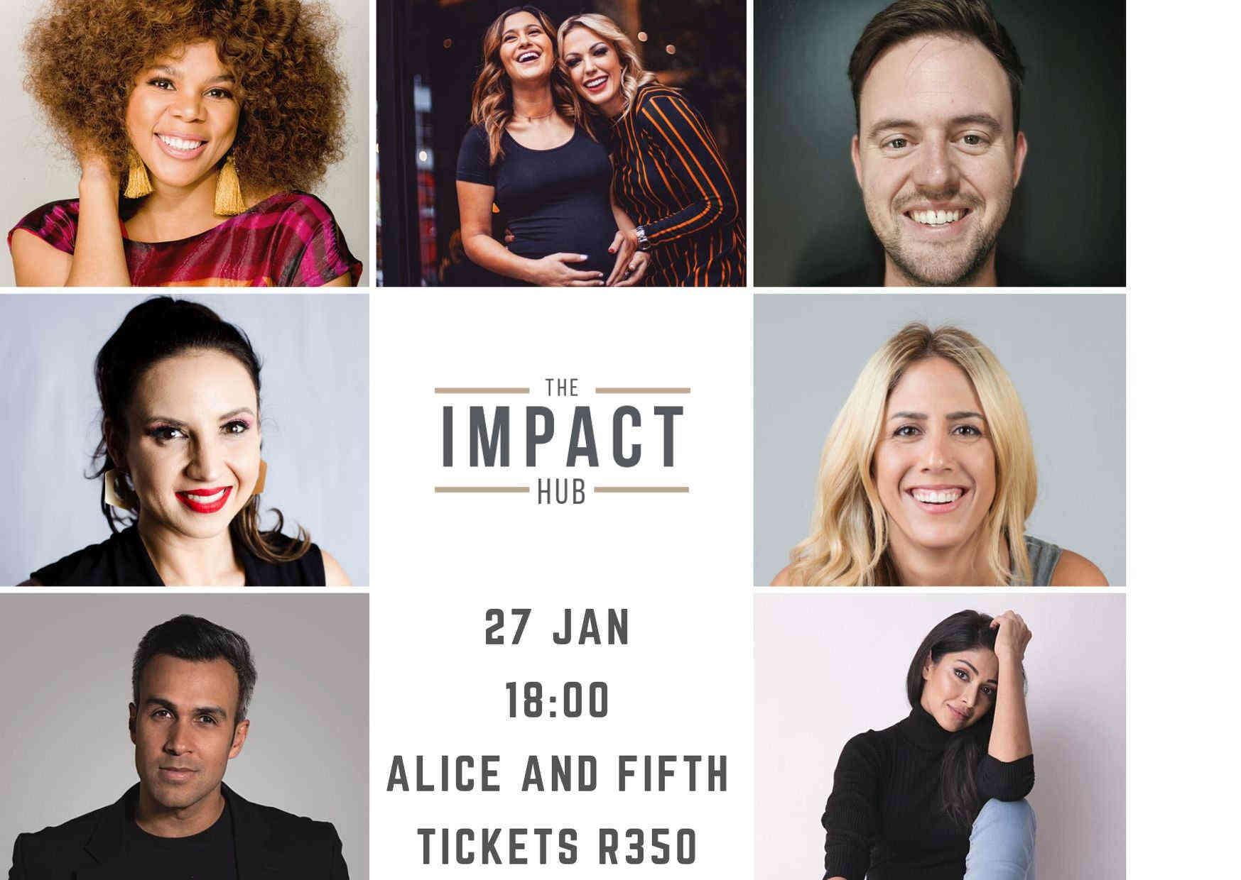 The Impact Hub Speakers